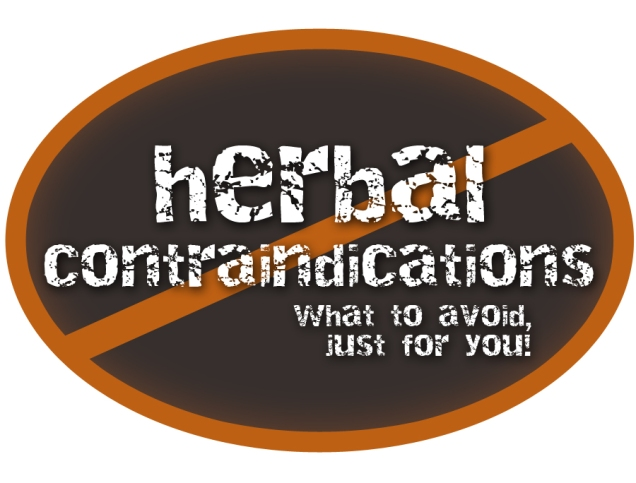 herbal-contraindications