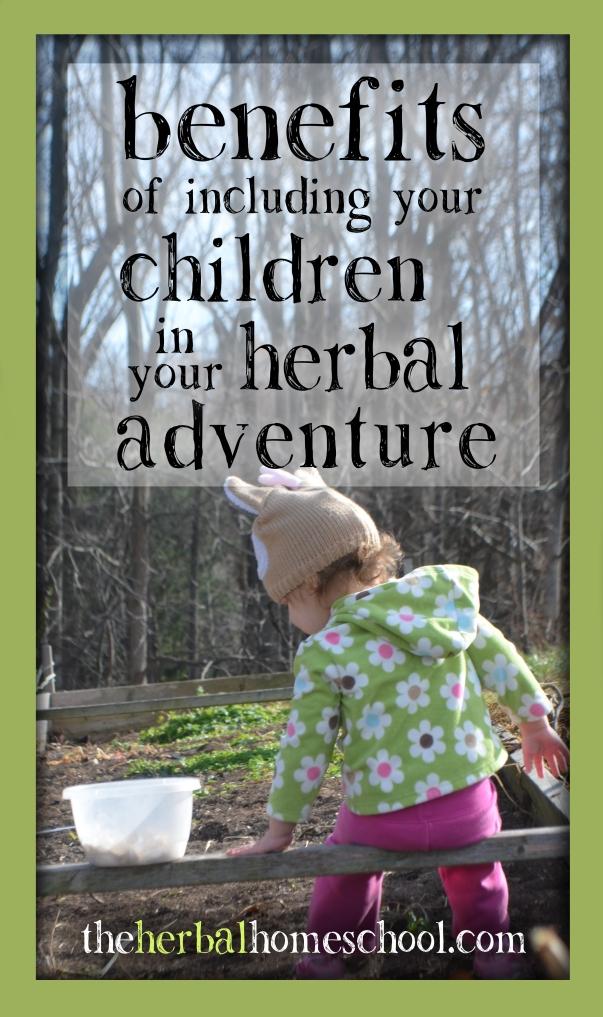 Benefits of including children in your herbal adventure