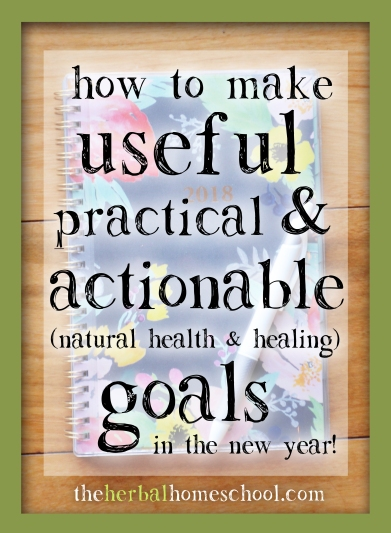 making practical health goals in the new year